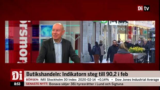 Framtidstron i svensk handel återhämtar sig