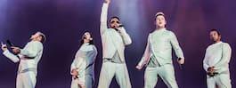 14 personer svårt skadade vid Backstreet Boys-konsert