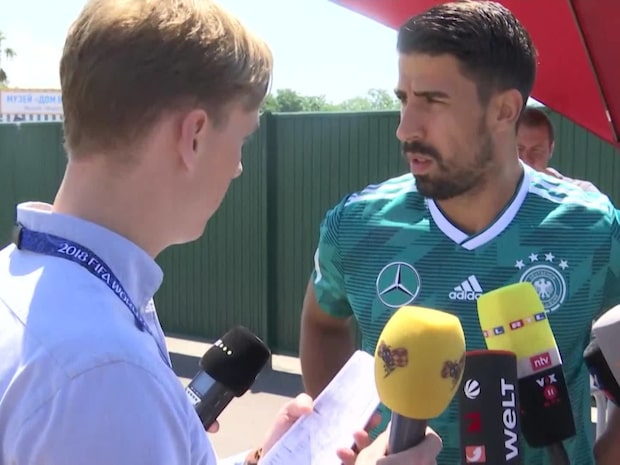 Swedish journalist gives Khedira plane tickets for early flight home