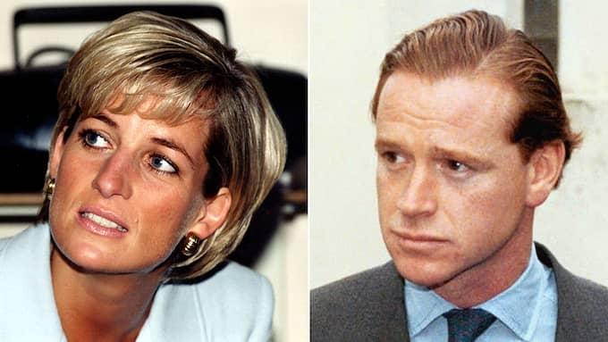Prinsessan Diana älskare James Hewitt har länge ryktats vara prins Harrys pappa. Foto: / AP PRESSENS BILD,AP PA