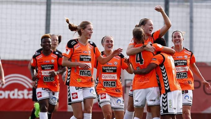Kristianstad hade segergreppet men släppte till 1-1 mot Vittsjö. Foto: THOMAS JOHANSSON/TT / TT NYHETSBYRÅN