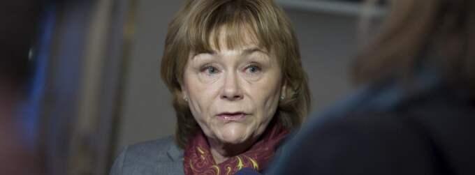 Justitieminister Beatrice Ask. Foto: Bertil Ericson / Scanpix
