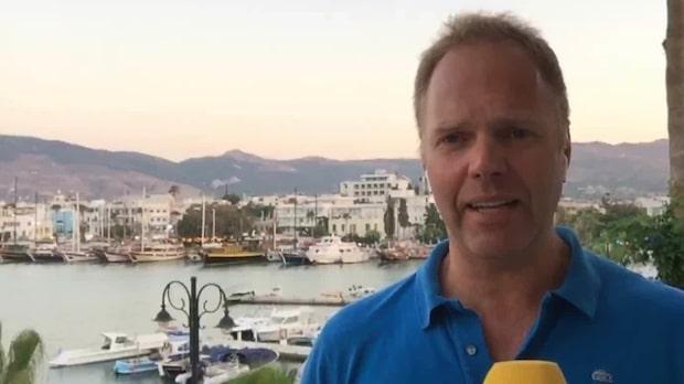 """Nytt jordskalv på Kos: """"Alla sprang ut från hotellen"""""""