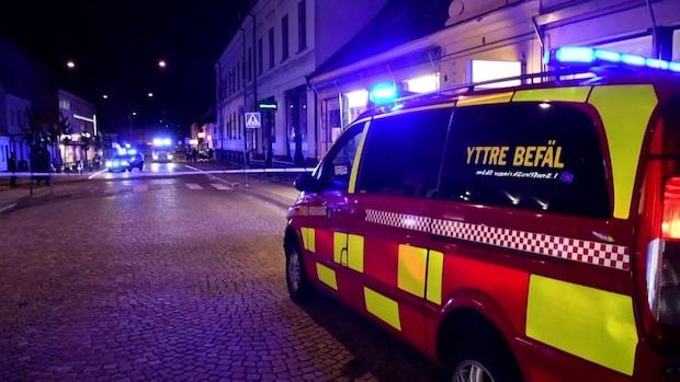 """Polisen om explosionen i Lund: """"Kvinna i 20-årsåldern skadad"""""""