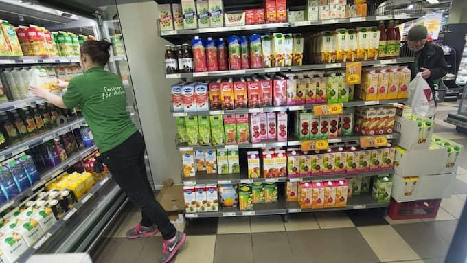 Sedan tidigare är Ica Kvantum i Höganäs en Svanenmärkt butik. Arkivbild. Foto: FREDRIK SANDBERG / TT / TT NYHETSBYRÅN