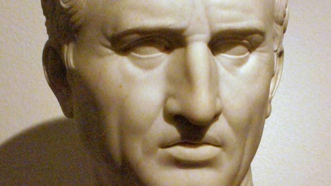 Marcus Tullius Cicero (106 f.Kr. - 43 f.Kr.) var en romersk författare, politiker och retoriker. Foto: Gunnar Back Pedersen