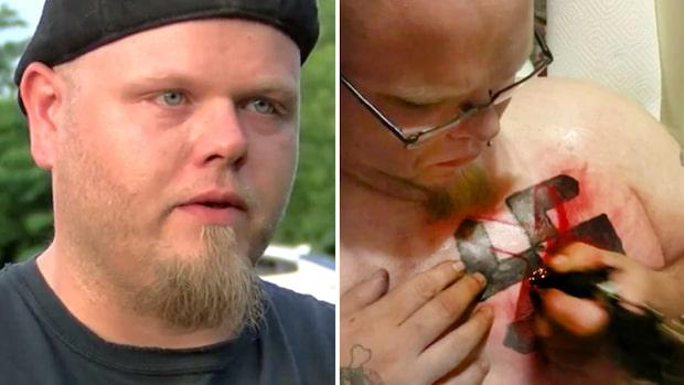 Tatuerade in hakkors på bröstet – så vände Dickie sitt liv bort från hatet
