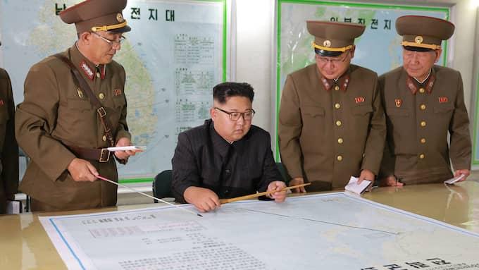 Nordkoreas ledare Kim Jong-Un. Foto: KCNA / EPA / TT / EPA TT NYHETSBYRÅN
