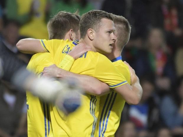 Sverige reducerar mot Portugal efter drömanfall