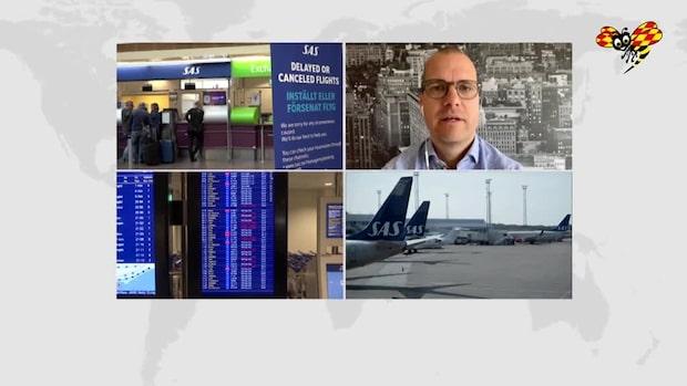 """Sparekonomen om SAS-strejken: """"Alldeles för kostsamt"""""""