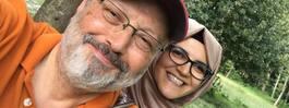 Khashoggis fästmö får övervakning dygnet runt