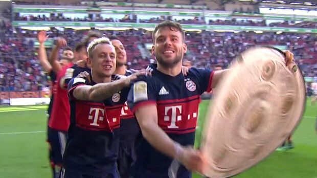 Bayern München säkrade ligatiteln