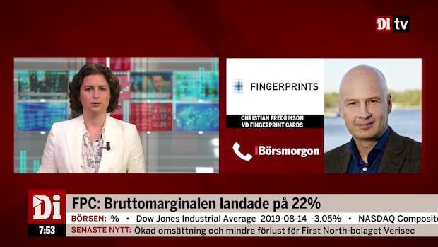 Fingerprint-aktien är upp 75 procent sedan årskiftet