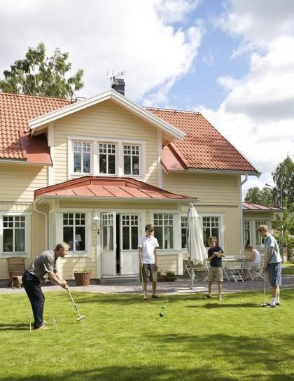 BILDSPECIAL Som en gul Carl Larsson villa Leva& bo Expressen Leva& bo