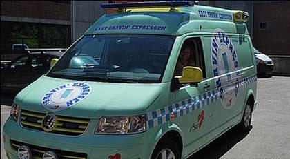 Ambulansen Shavin´Expressen erbjuder akutrakning.