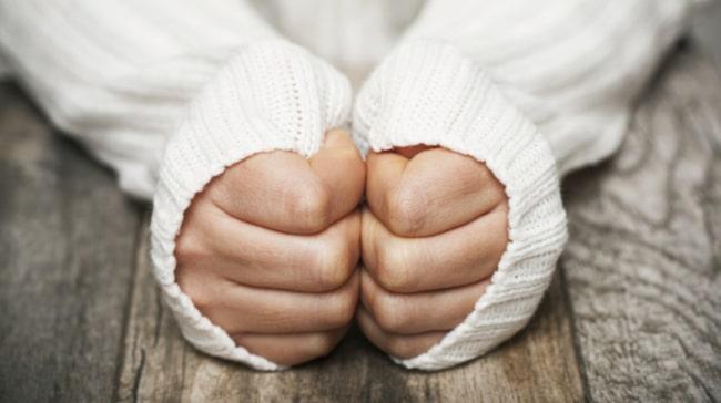 skakiga händer stress