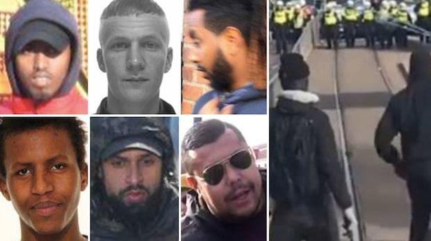 Attackerade poliser vid Liseberg – elva döms