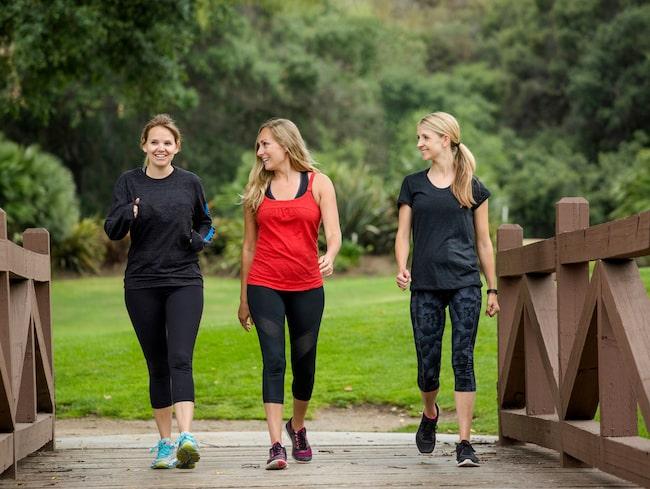 promenera med vikter
