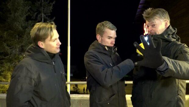 """Skidsnack – Kallas oväntade sånginsats: """"Fem getingar"""""""