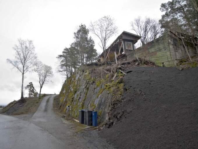 Utsikten från klippan där huset ligger är en av de bästa i området. Foto: HENNING LILLEGÅRD/DAGBLADET