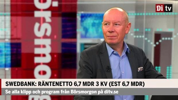 Swedbank: Rörelseresultat 6,4 MDR 3 kvartalet (EST 6,7 MDR)