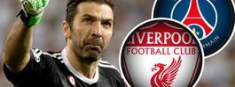 Liverpool och PSG tampas om Buffon