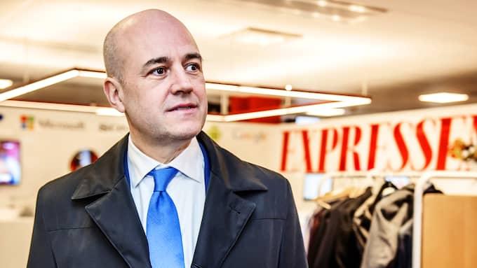 """Förra statsministern Fredrik Reinfeldt frågas ut i kvällens """"Bara Politik"""" i Expressen TV. Foto: ANNA-KARIN NILSSON / ANNA-KARIN NILSSON EXPRESSEN"""