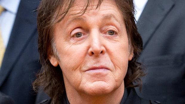 Så har du aldrig sett Paul McCartney förut