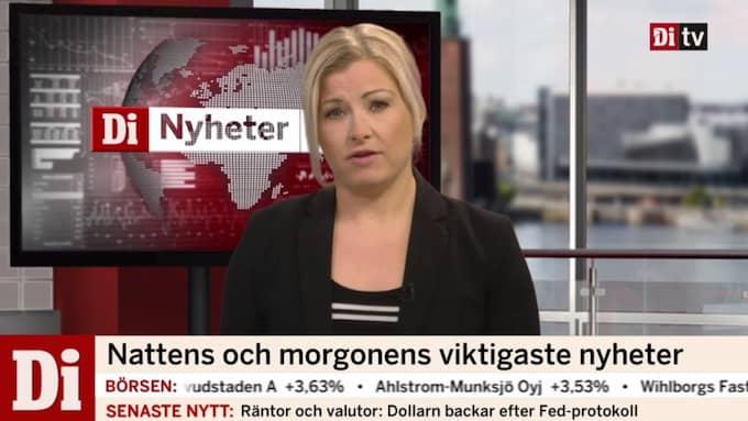 """Johanna Grenz är programledare för """"Di Nyheter 07.30""""."""