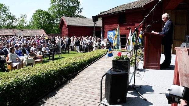 Så firar kungaparet nationaldageni Dalarna