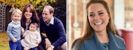 Kates lyxiga förlossning  – champagne och gourmetmat