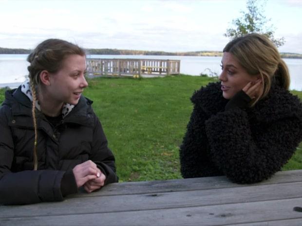 Bianca Ingrosso träffar sjuka Kimberly - erbjuder praktikplats