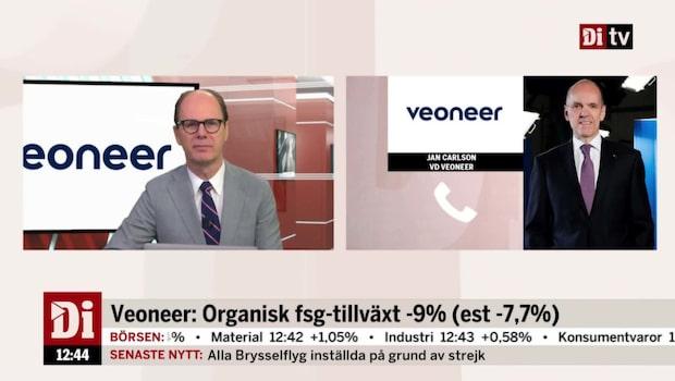Rekordstark orderingång för Veoneer 2018