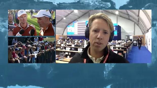 Expressens golfreporter om upplösningen i Ryder Cup