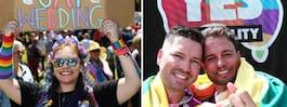 Australien säger ja till samkönade äktenskap