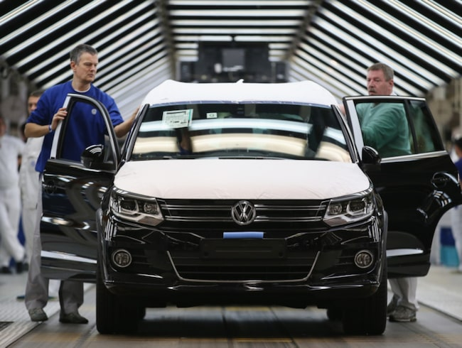 Dieselskandalen blir inte helt oväntat en dyr historia för Volkswagen.