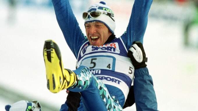Myllälä ledde det finska laget till seger i stafetten på hemma-VM. Foto: Arne Forsell / © BILDBYRÅN