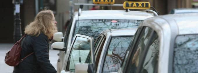 Dyr taxi - men helt laglig. Foto: Sean Gallup