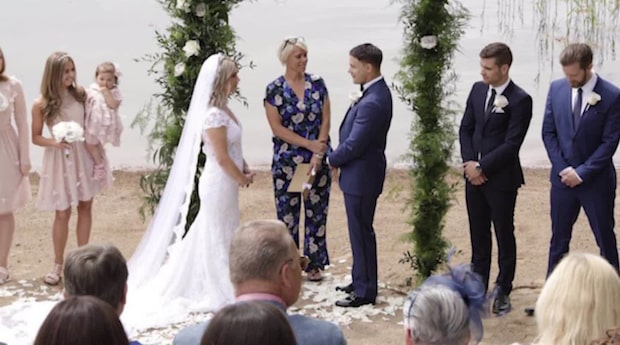 Camilla Läckberg och Simon Sköld har gift sig i hemlighet