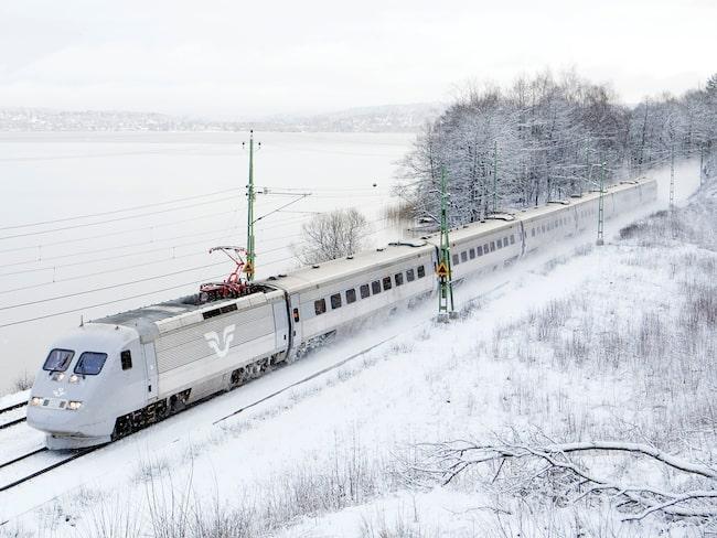 Nu släpper SJ vintersäsongens tågbiljetter.