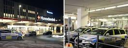 Nyfött barn stals från sjukhus – två gripna