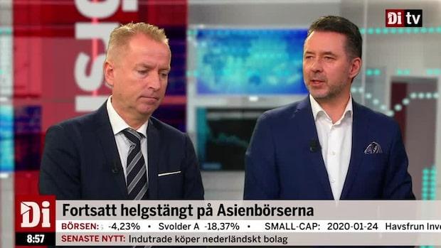 """Fredrik Warg: """"Vi kan nog förvänta oss fortsatt oro"""""""