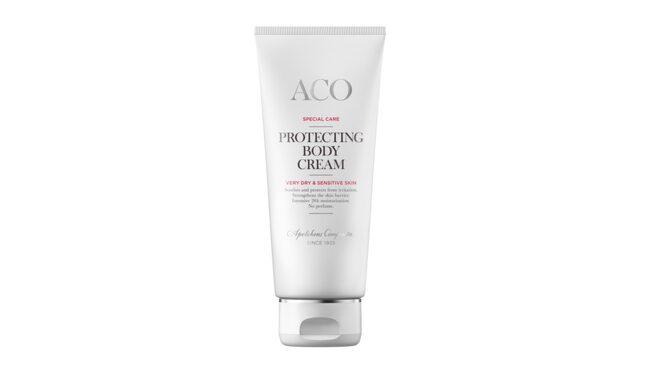 Protecting body cream, 109 kronor/200 ml, ACO.