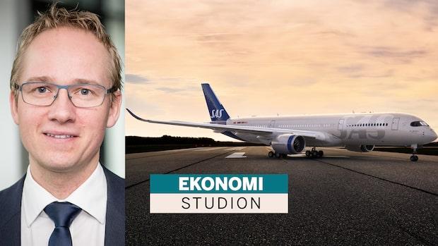 "Jacob Pedersen om SAS: ""Corona har inte gjort avtryck på siffrorna"""