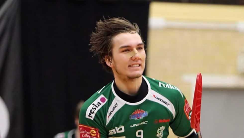 Milan Tomasik gjorde sig ett namn i Sverige under sina säsonger i Umeå-klubben IBK Dalen. Foto: Per Wiklund