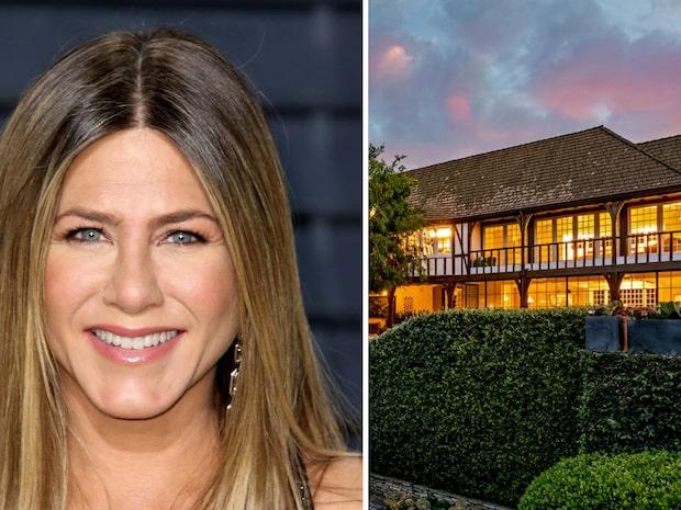 Bilderna inifrån Jennifer Anistons miljonvilla