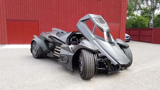 Från Lamborghini till Batmobile - Se omvandlingen
