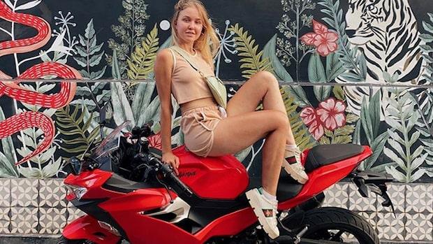 Influencern död i motorcykelolycka - blev 18 år