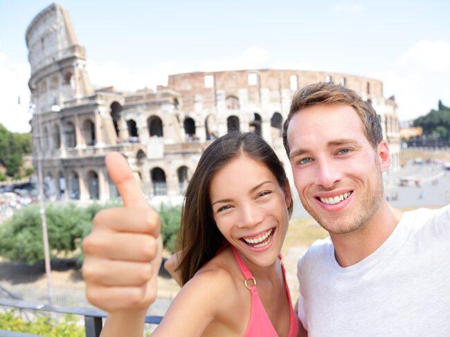 Visste du att... de flesta tillställningar på Colosseum, förr i tiden, var gratis och ett sätt för kejsaren att hålla undersåtarna på gott humör.