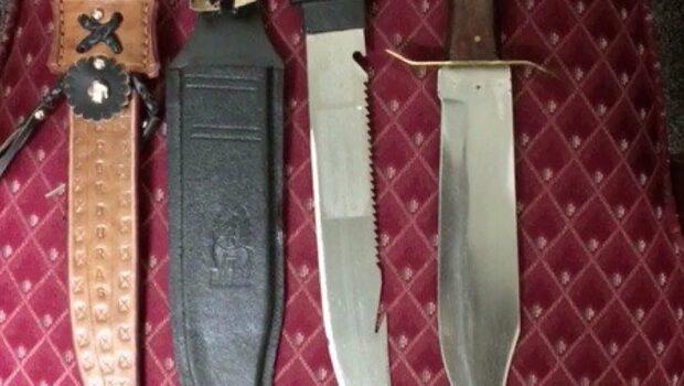 Elev greps på skolan med knivar och en dödslista